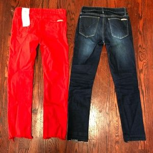 LOT OF 2 Hudson Kids Jeans Size 12